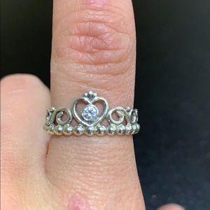 Princess pandora ring